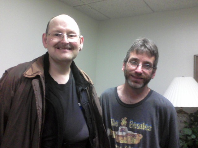 Brian and Lee, NDE survivors
