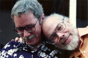 Tim and Ted, some years ago.