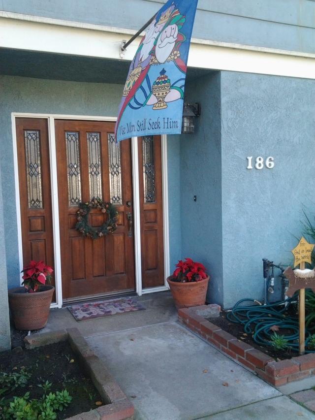 Christmas 2013 front door