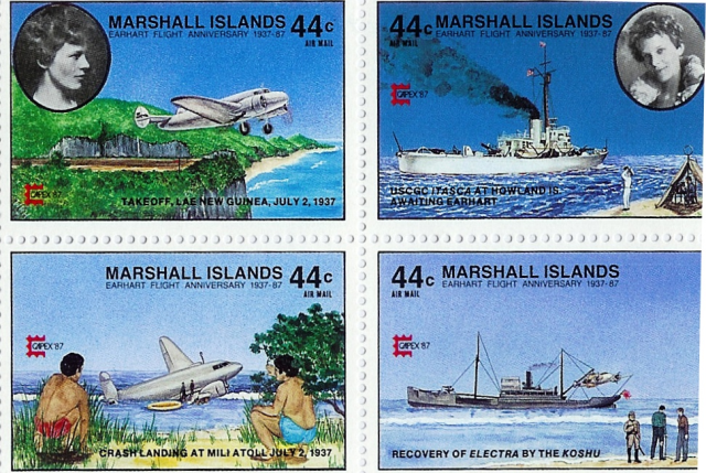 AE stamps 1937 Marshall Islands